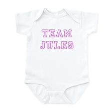 Pink team Jules Infant Bodysuit