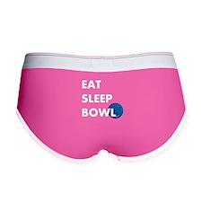 Eat Sleep Bowl Women's Boy Brief