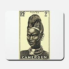 1939 Cameroon Mandarawa Woman Postage Stamp Mousep