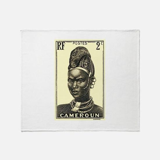 1939 Cameroon Mandarawa Woman Postage Stamp Stadi
