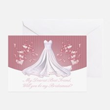 Best Friend - Will You Be My Bridesmaid Greeting C