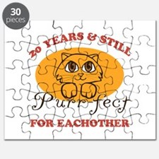 20th Purr-fect Anniversary Puzzle