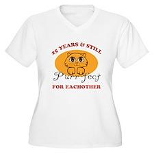 25th Purr-fect Anniversary T-Shirt
