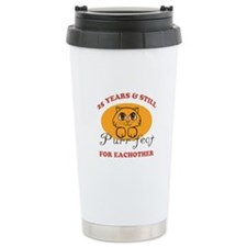 25th Purr-fect Anniversary Travel Mug