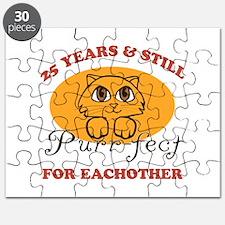 25th Purr-fect Anniversary Puzzle