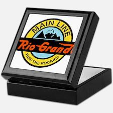 Rio Grande Rockies Railway Keepsake Box