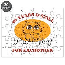 40th Purr-fect Anniversary Puzzle