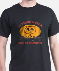 50th Purr-fect Anniversary T-Shirt
