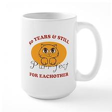 50th Purr-fect Anniversary Mug