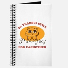 50th Purr-fect Anniversary Journal