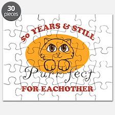 50th Purr-fect Anniversary Puzzle