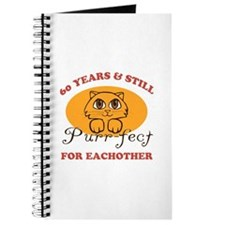 60th Purr-fect Anniversary Journal