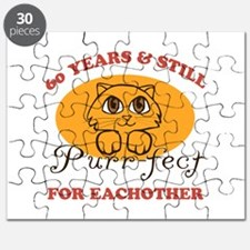 60th Purr-fect Anniversary Puzzle