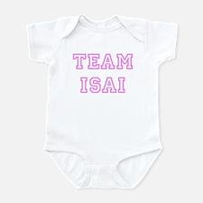 Pink team Isai Infant Bodysuit