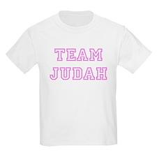 Pink team Judah Kids T-Shirt