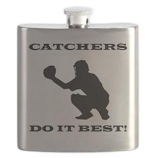 Catchers Do It Best Flask