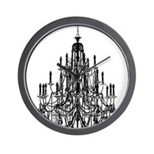 Vintage Chandelier Wall Clock