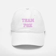 Pink team Fox Baseball Baseball Cap
