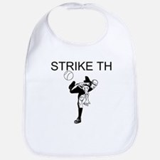 Strike Three Bib