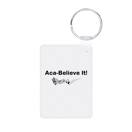 Aca-Believe It Products Aluminum Photo Keychain
