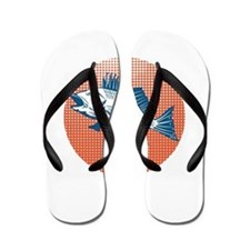 Sea Bass Retro Flip Flops