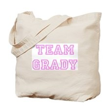 Pink team Grady Tote Bag