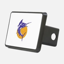 Sailfish Fish Jumping Retro Hitch Cover