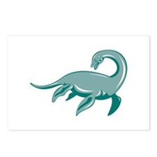 Loch Ness Monster Retro Postcards (Package of 8)