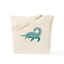 Loch Ness Monster Retro Tote Bag