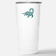 Loch Ness Monster Retro Travel Mug