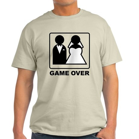 gameOOver1A.png Light T-Shirt