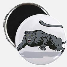 Jaguar Prowling Magnet