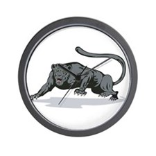 Jaguar Prowling Wall Clock