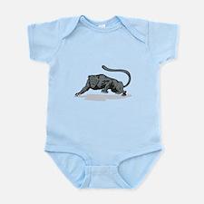 Jaguar Prowling Infant Bodysuit