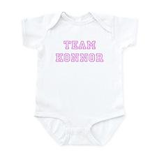 Pink team Konnor Infant Bodysuit