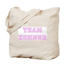 Pink team Konner Tote Bag