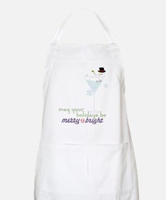 Merry And Bright Apron