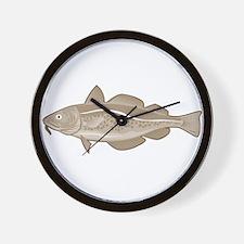 Atlantic Codfish Retro Wall Clock