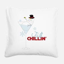 Just Chillin Square Canvas Pillow