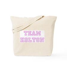 Pink team Kolton Tote Bag