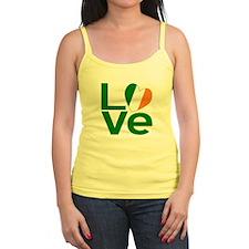 Green Irish Love Jr.Spaghetti Strap