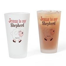 Jesus is Shepherd Drinking Glass