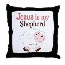 Jesus is Shepherd Throw Pillow