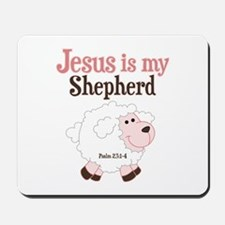 Jesus Is Shepherd Mousepad