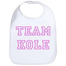 Pink team Kole Bib