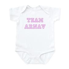 Pink team Arnav Infant Bodysuit