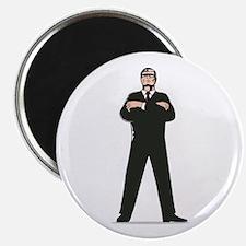 Secret Service Agent Body Guard Magnet
