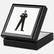 Secret Service Agent Body Guard Keepsake Box