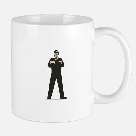 Secret Service Agent Body Guard Mug