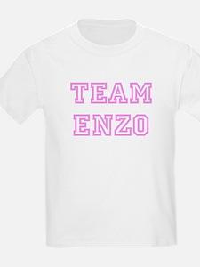Pink team Enzo Kids T-Shirt